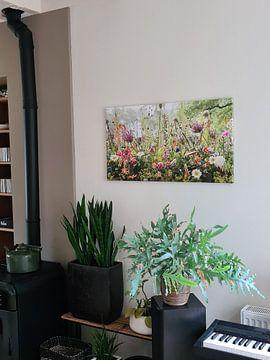 Kundenfoto: Blumenarbeit im Park von Paul Heijmink