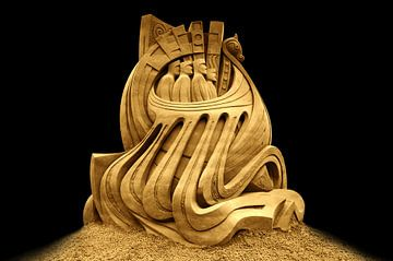 Vikingen van Signature Sand Art