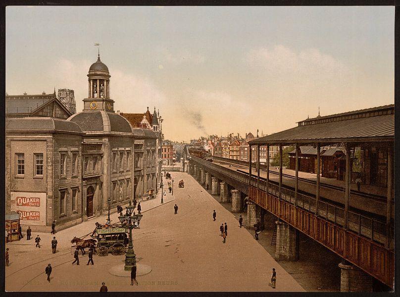 De Beurs, Rotterdam van Vintage Afbeeldingen