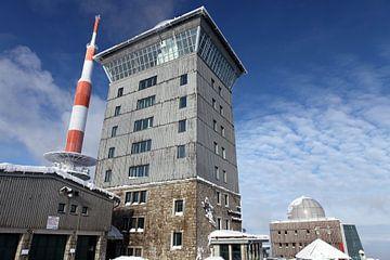 Le Brocken - le plus haut sommet d'Allemagne du Nord sur t.ART