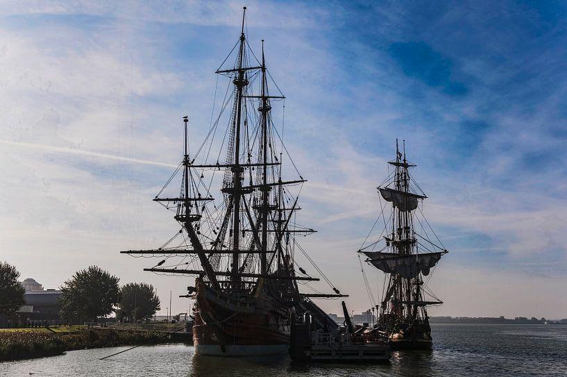 Batavia VOC schip Lelystad van Brian Morgan