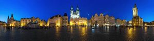 Oud stadsplein in Praag - Panorama