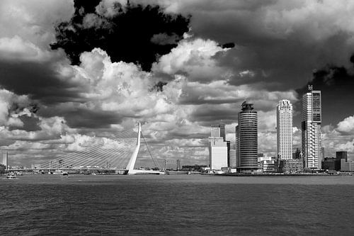 Rotterdam vanaf het water van