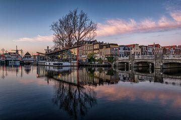 Galgenwater/Turfmarkt Leiden von Dick van Duijn