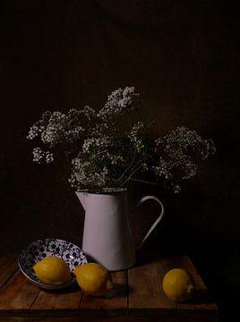 Stilleben mit Zitronen von Odette Kleeblatt