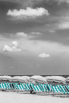 Strandidylle | color pop türkis von Melanie Viola