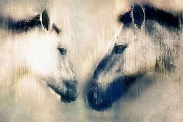 Salutation entre 2 chevalier konik (art) sur Art by Jeronimo