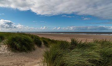 Het strand van Vlieland van Ingrid Aanen