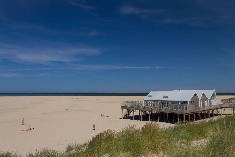Beach of Texel sur Nicole van As
