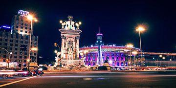 Barcelona – Placa d'Espanya von Alexander Voss