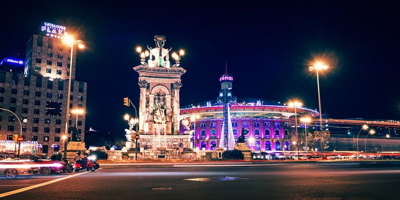 Barcelona – Placa d'Espanya van Alexander Voss