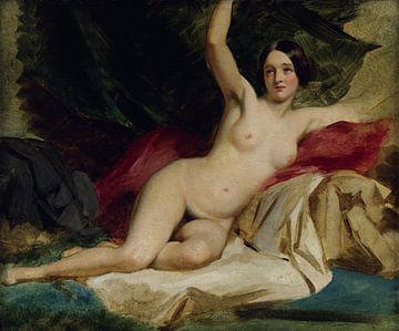 Weiblich nackt liegend, William Etty von Atelier Liesjes