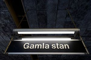 Gamla Stan Stockholm Subway