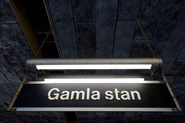 Gamla Stan Stockholm Subway van Lars Scheve