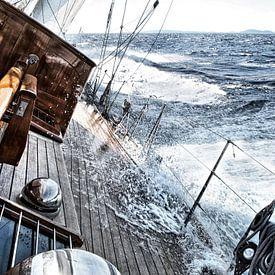 Segeln mit starkem Wind von Anouschka Hendriks