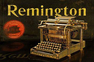 Schreibmaschine Remington Modell 7 von Ingo Rasch