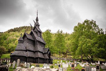 Staafkerk (Borgund) in Noorwegen van