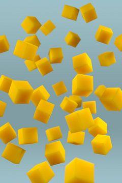Cheese Cubes van Jörg Hausmann