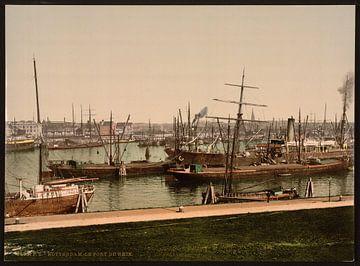 Rijnhaven, Rotterdam von Vintage Afbeeldingen