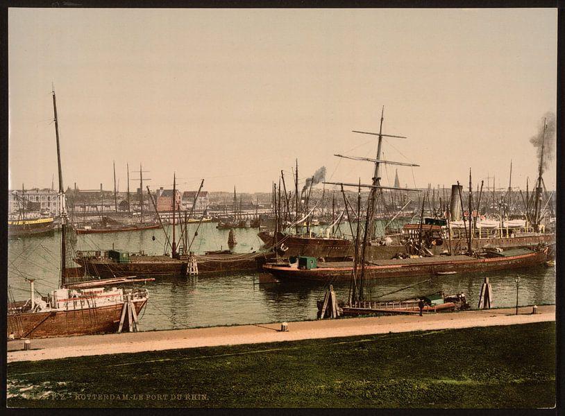 Rijnhaven, Rotterdam van Vintage Afbeeldingen