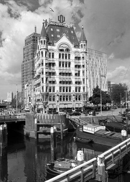 Wittehuis in de Oude Haven van Rotterdam