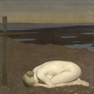 Youth Mourning, George Clausen