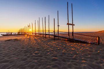 Kaap Noord op Texel tijdens zonsopkomst van Paul Weekers Fotografie