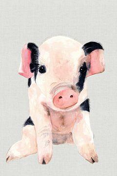 Dolly Pig, Jodi Hatfiled  von PI Creative Art