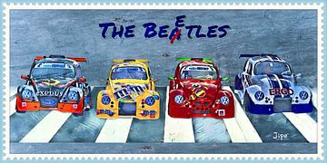 The Beetles  VW Funcup von JiPé digital artwork