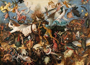 De val der opstandige engelen, Pieter Bruegel sur