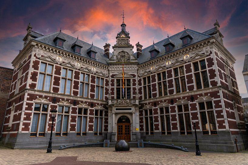 Academiegebouw Utrecht van Peter Bontan Fotografie