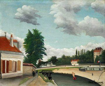 Vororte von Paris, Henri Rousseau (ca. 1897-1905) von Atelier Liesjes