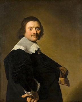Portret van een heer, Johannes Cornelisz. Verspronck