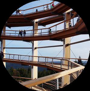 Aussichtsturm Bad Wildbad van Yven Dienst