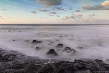 Zee van wolken van Stephan van der Linde