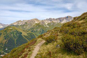 Alpenrosenweg, St. Anton am Arlberg sur
