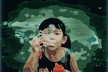 Bubbles von Miriam Duda