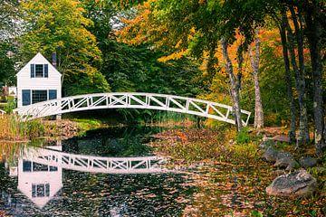 Somesville-Brücke, Maine von Henk Meijer Photography