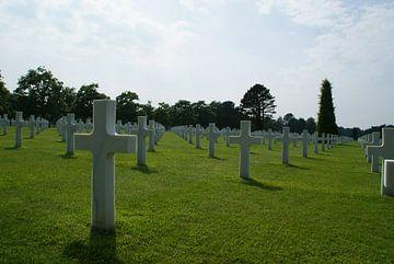 American Cemetery van Colleville-sur-Mer van shannon van deursen