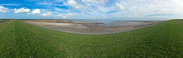 Panorama waddendijk van mr gorpie