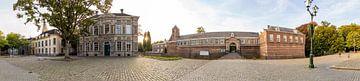 Panoramafoto Breda - Kasteeelplein van I Love Breda