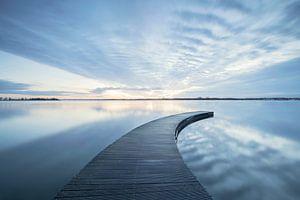 Steiger bij Zeewolde met spectaculaire lucht