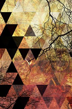 Abstraktes Design  van Markus Wegner