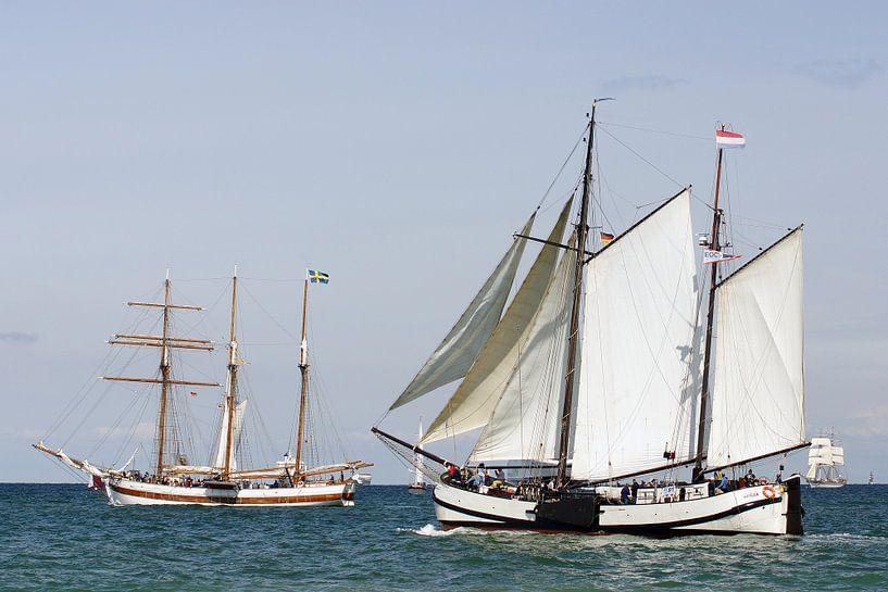 Begegnung auf der Sail von Ingo Rasch