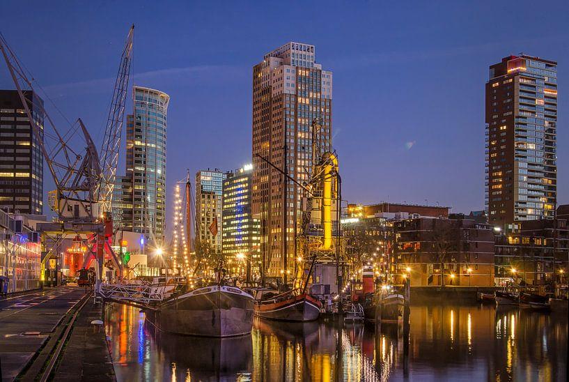 Kranen, boten, torens van Frans Blok