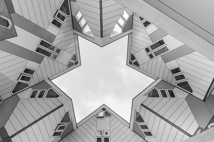 De Kubuswoningen in Rotterdam van MS Fotografie