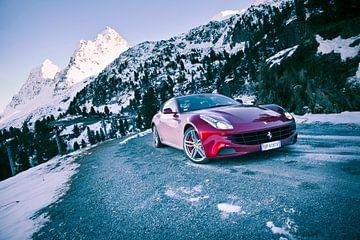Ferrari FF sur Sytse Dijkstra