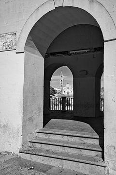 Doppelansicht in Matera in Schwarzweiß von iPics Photography