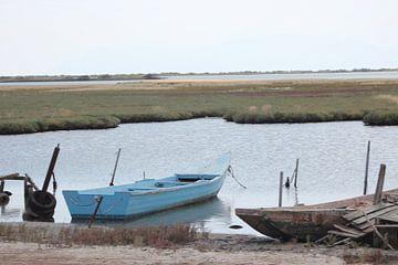 Fischerboote im Evros Delta - Griechenland von ADLER & Co / Caj Kessler