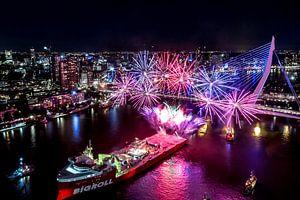 Rotterdam - Wereldhavendagen Vuurwerkshow